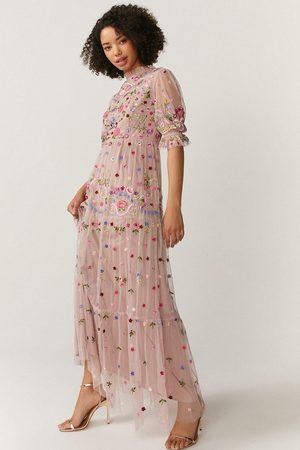 Coast Women Skirts - Coast All Over Embroidered Maxi Dress