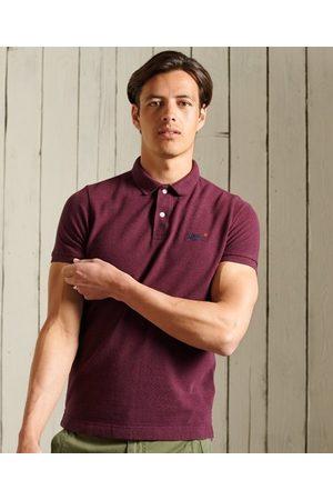 Superdry Men Short Sleeve - Organic Cotton Short Sleeved Pique Polo
