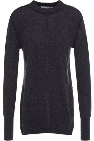 AUTUMN CASHMERE Woman Mélange Cashmere Sweater Charcoal Size S