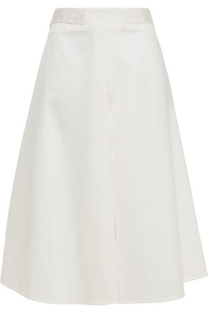 Marni Woman Flared Cotton-sateen Skirt Size 40