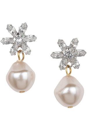 Jennifer Behr Women Earrings - Reiss crystal-flower earrings