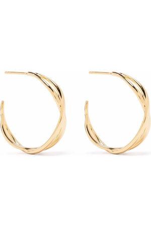 Dinny Hall Women Earrings - Twist open hoop earrings