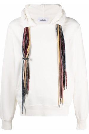 AMBUSH Men Sweatshirts - Drawstring cotton hoodie