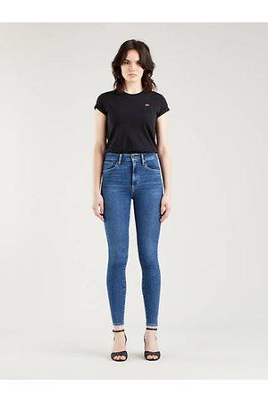 Levi's Mile High Super Skinny Jeans - Dark Indigo / Venice For Real