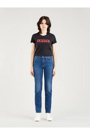 Levi's 724™ High Rise Straight Jeans - Medium Indigo / Nonstop