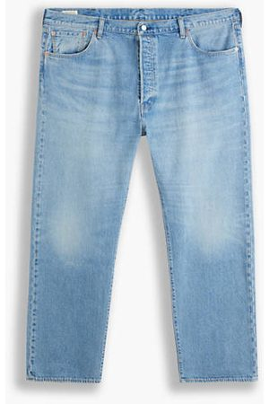 Levi's 501® Levi's® Original Jeans (Big & Tall) - Medium Indigo / Basil Sand