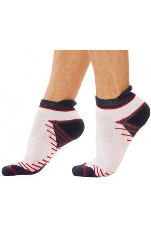 Dim Men Sports Underwear - 2-Pack X-Temp Sport Bobby Socks - Navy - 39/42