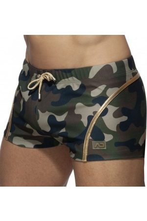 Addicted Men Trousers - Microfiber Shorts - Camouflage - XS
