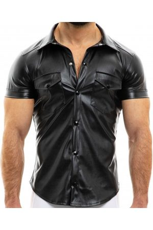 Modus Vivendi Men Short sleeves - Leather Shirt - S