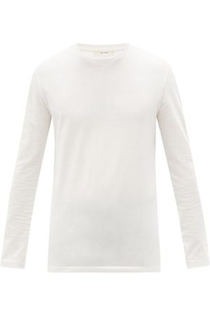 The Row Men Long Sleeve - Leon Cotton-jersey Long-sleeved T-shirt - Mens