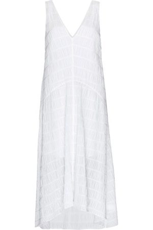 Frame Women Midi Dresses - Savannah Ruched-crepe Midi Dress - Womens