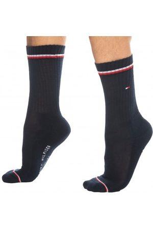 Tommy Hilfiger Men Socks - 2-Pack Iconic Sporty Socks - Navy 39/42