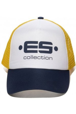 Es Men Caps - Print Logo Baseball Cap - Navy One Size