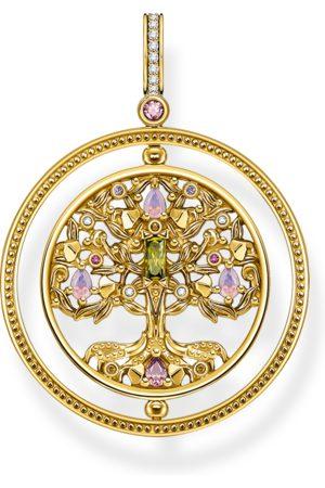 Thomas Sabo Women Necklaces - Pendant tree of love gold colourful stones multicoloured PE920-996-7