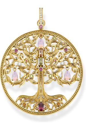 Thomas Sabo Women Necklaces - Pendant tree of love gold colourful stones multicoloured PE919-996-7