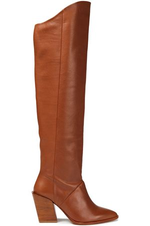 Rodebjer Woman Lazar Leather Over-the-knee Boots Tan Size 36