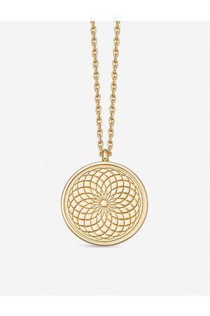 ASTLEY CLARKE Celestial Radial 18ct - vermeil necklace