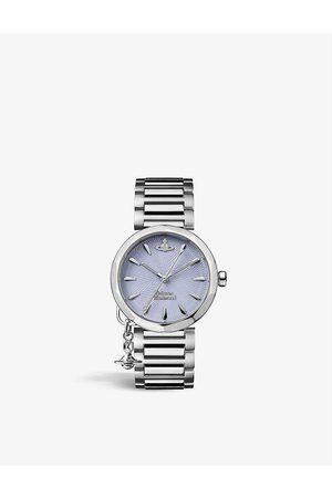 Vivienne Westwood Watches VV246LBLSL Poplar stainless-steel quartz watch