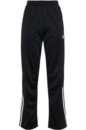 adidas Woman Striped Tech-jersey Track Pants Size 30