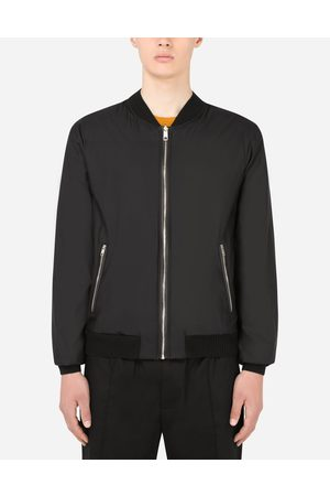 Dolce & Gabbana Men Coats - Collection - Reversible silk and wool jacket male 44