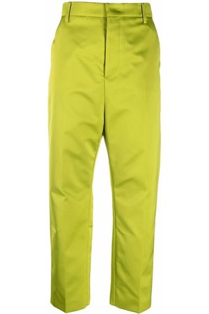 Nº21 Cropped straight-leg tailored trousers