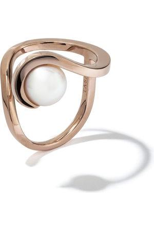 Tasaki Women Rings - 18kt rose gold Aurora Akoya pearl ring