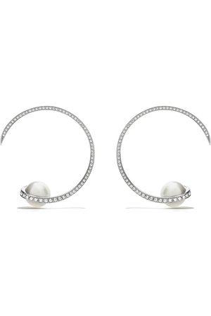 TASAKI Women Earrings - 18kt white gold Aurora South Sea pearl and diamond earrings