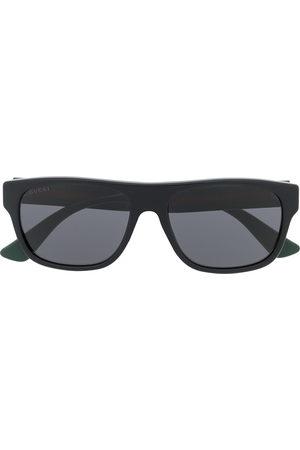 Gucci Rectangle-frame sunglasses