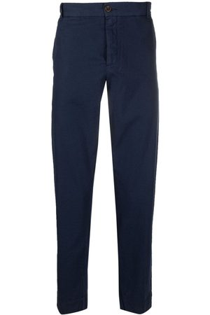 MYTHS Mid-rise slim-fit chinos