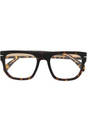 Eyewear by David Beckham Straight-bridge glasses