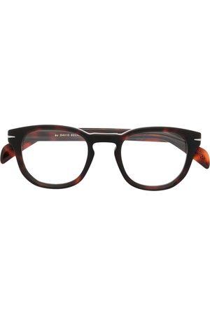 Eyewear by David Beckham Tortoiseshell-frame glasses