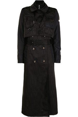 Marine Serre Triple-layer survival trench coat