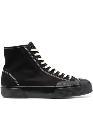 Superga Stitched high-top sneakers
