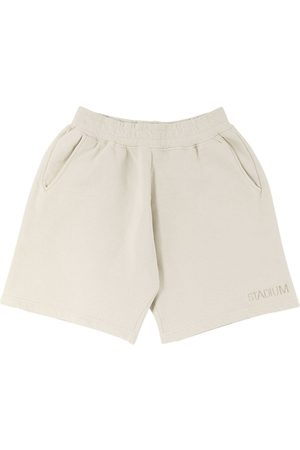 Stadium Goods Eco logo-embroidered track shorts - Neutrals