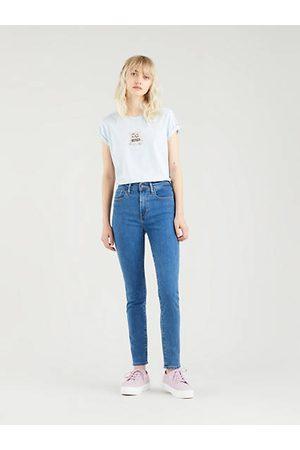 Levi's Women Skinny - 721™ High Rise Skinny Jeans - Dark Indigo / Bogota Heart