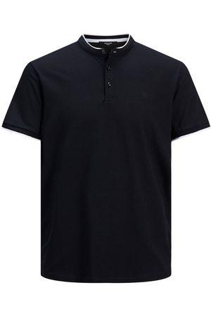 JACK & JONES Men Polo Shirts - Pique Mandarin Collar Polo Shirt