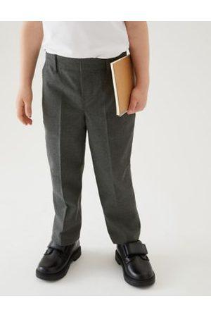 Marks & Spencer Boys Trousers & Shorts - Boys 2pk Boys' Adaptive School Trousers - 4-5 Y