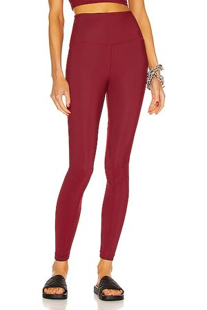 WARDROBE.NYC Legging in Burgundy