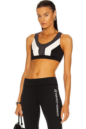 Perfect Moment Women Tops - Vale Rainbow Seamless Fitness Top in