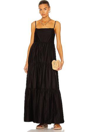 MATTEAU Tiered Low Back Sun Dress in