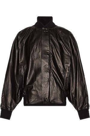 FEAR OF GOD Leather Bomber in