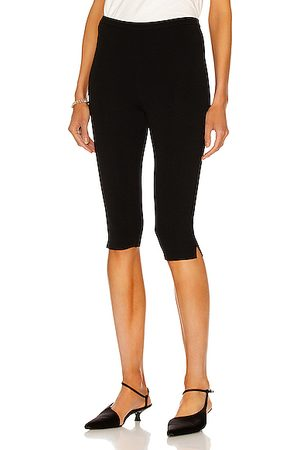 Totême Cropped Compact Knit Leggings in