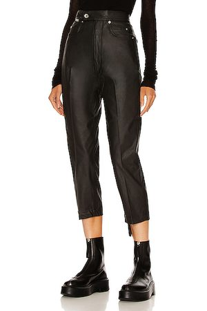 DRKSHDW by Rick Owens Bolans Cropped Pant in