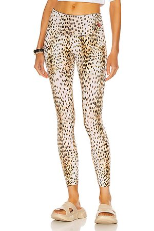 R13 Active Patch Pocket Legging in Cheetah