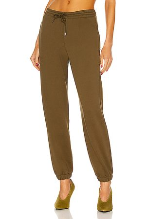 WARDROBE.NYC Track Pant in Military