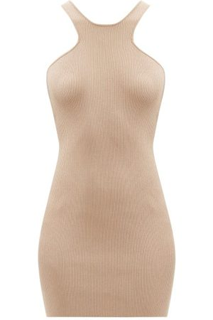 GAUGE81 Avila Racerback Ribbed Mini Dress - Womens