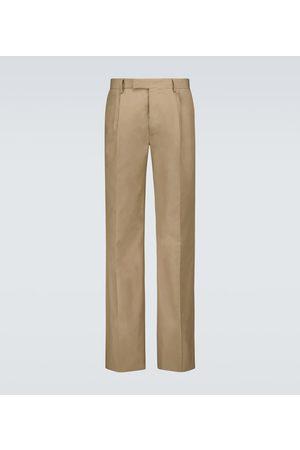 AMIRI Men Trousers - Pleated cotton pants