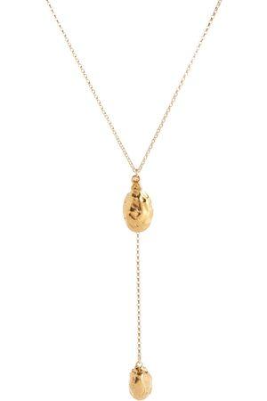 Alighieri Luna Rocks 24kt -plated bronze necklace