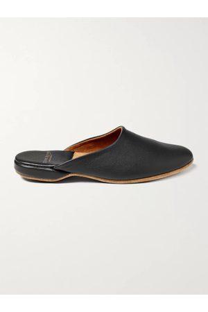 DEREK ROSE Men Slippers - Morgan Leather Slippers
