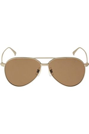 Dunhill Men Sunglasses - Rollagas Aviator Titanium Sunglasses